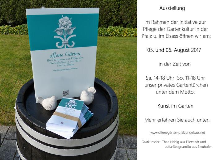Offene Gärten in Rheinland-Pfalz und Elsass