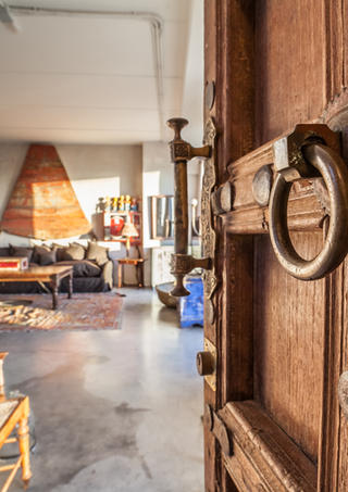 Entrance Bombay Loft