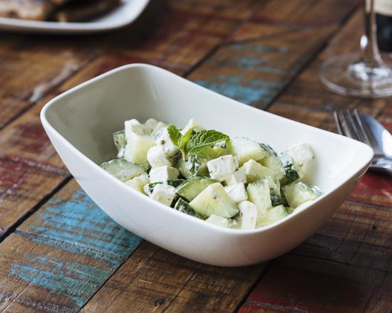 Cucumber and Mint Mojito Salad