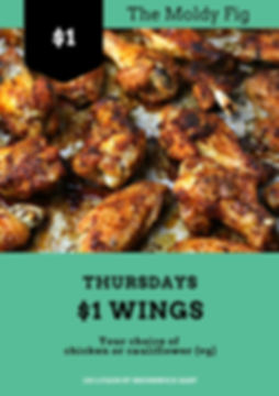 $1 Wing Night