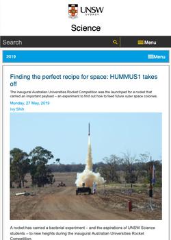 UNSW Science Website