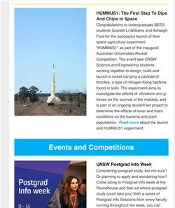 UNSW Science Newsletter