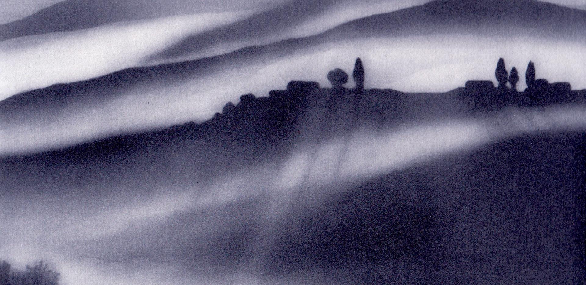 'Sunrise, Tuscany'