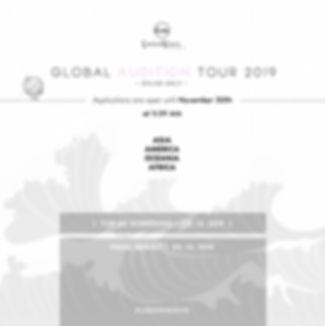 Global K-Pop Audition Tour 2019