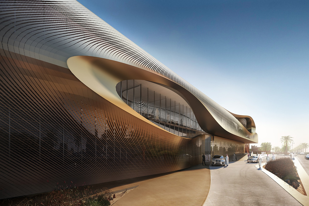 UAHC render by Metanoia Courtesy of Zaha Hadid Architects