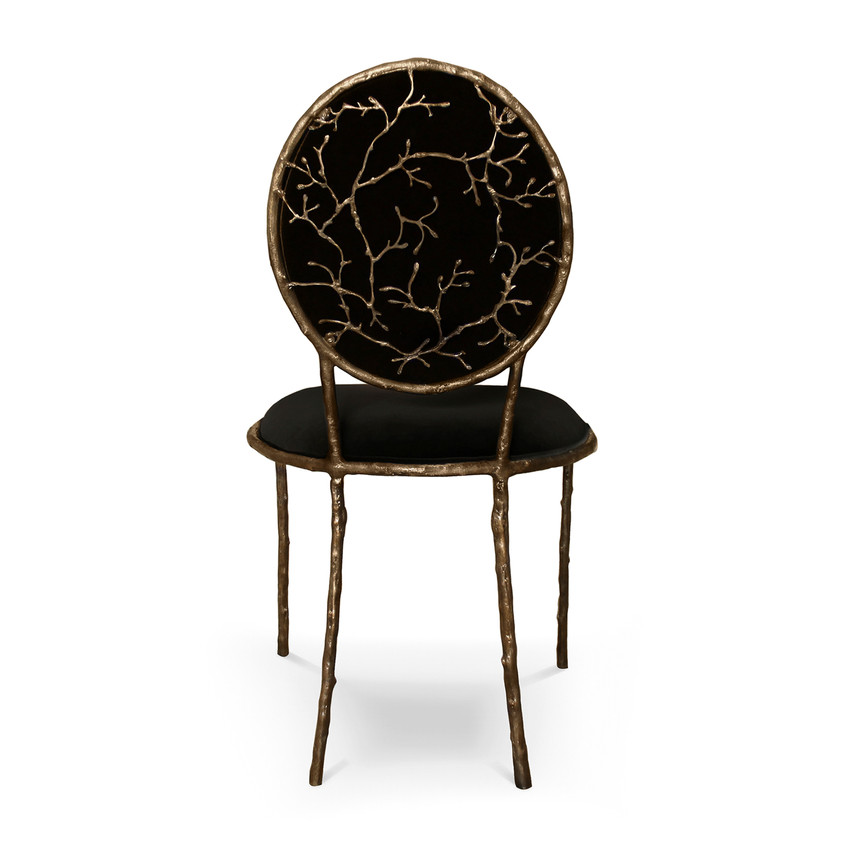 KOKET, Chairs  Enchanted Dining Chair bl