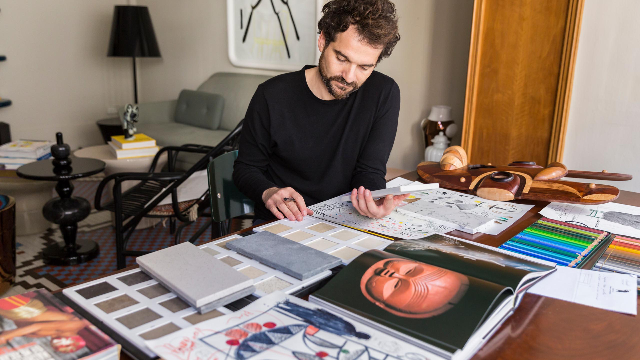 Hayon's Valencia studio - image by Andrew Habeck