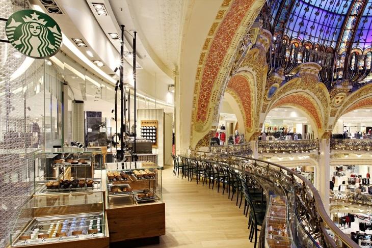 Galeries Layayette Paris France