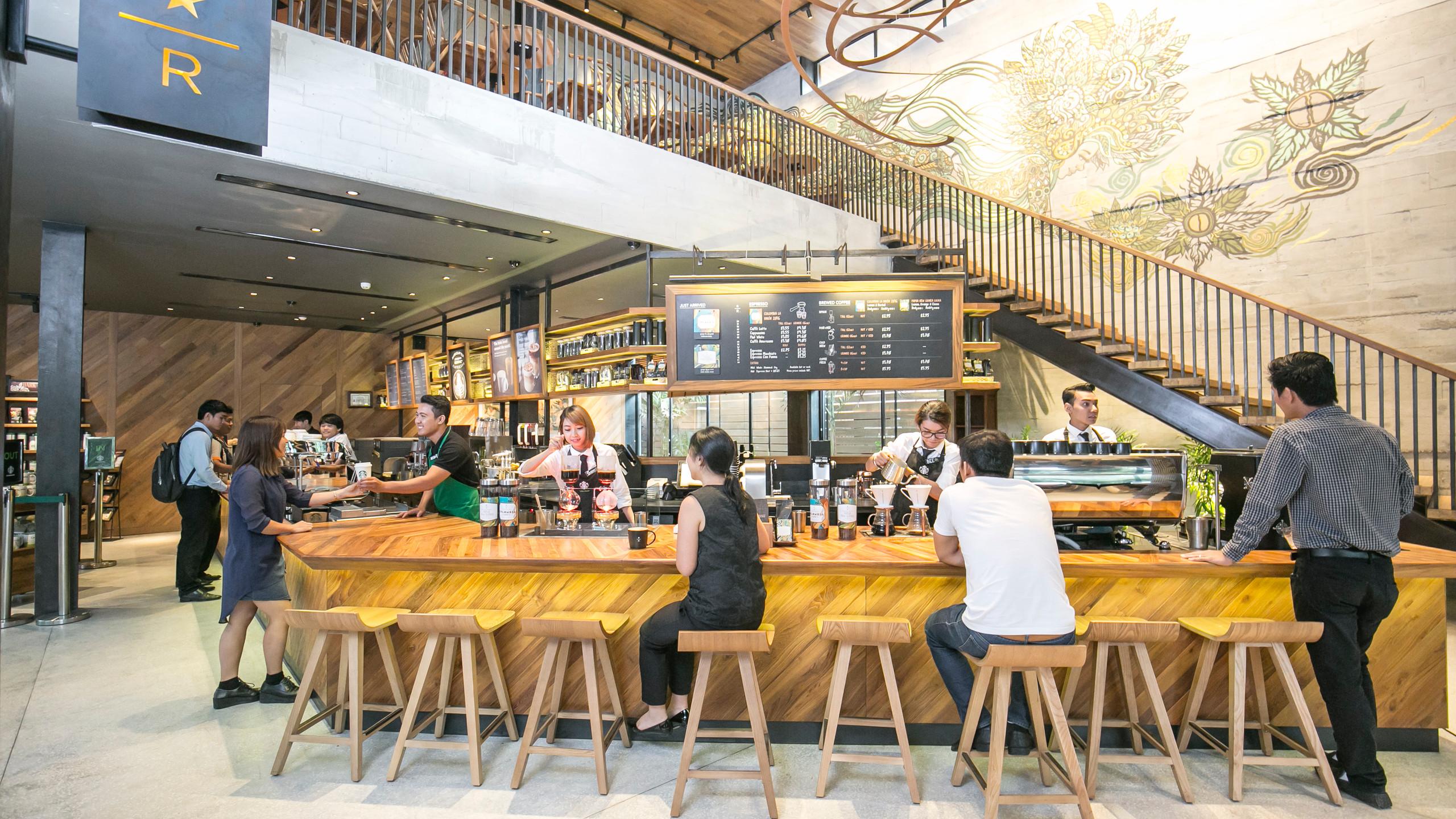 Starbucks Cambodia Flagship Store
