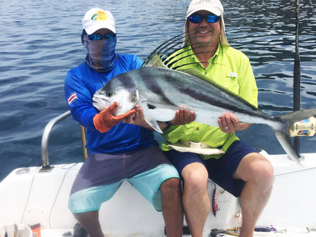 Roosterfish with Steve