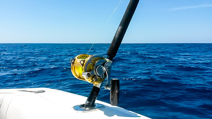Sea Star CR, we fish with Penn International Reels