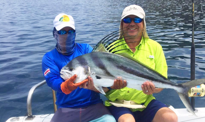 Roosterfish - Best Fishing in Papagayo Costa Rica