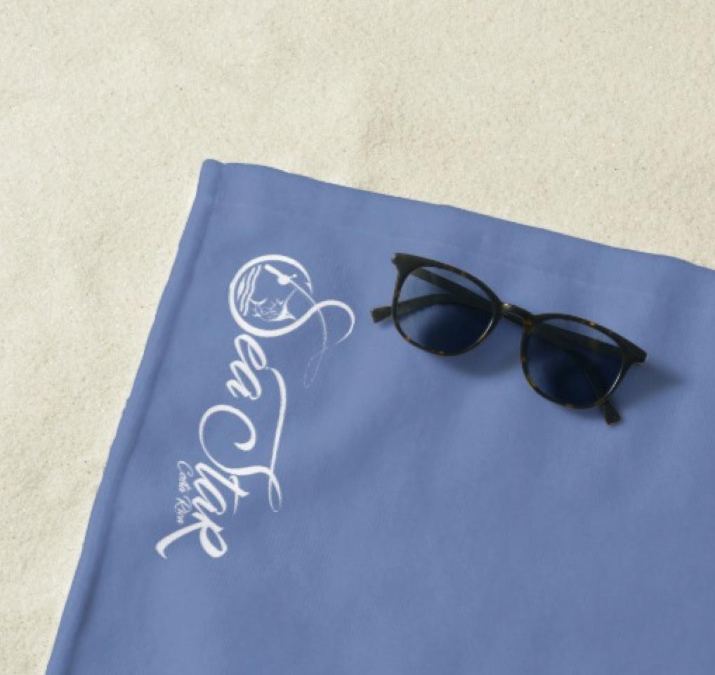 Sea Star CR Beach Towel
