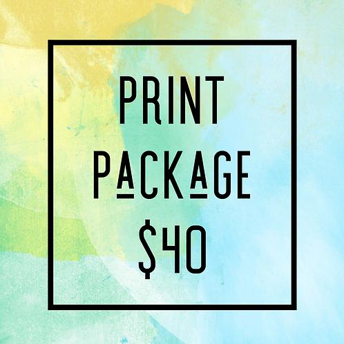 Print Package $40