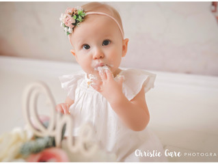 Milestone / Birthday Sessions at Christie Gare Photography!