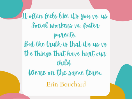 Dear Social Workers: A Letter from Foster Parents.