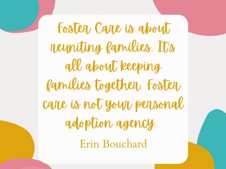 How the Hollis' used foster care for their personal adoption agency.