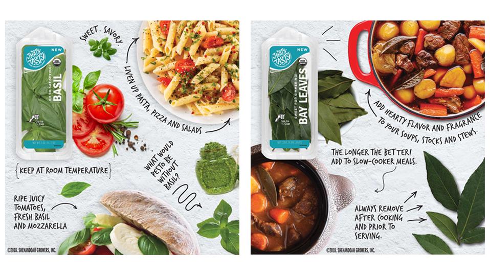 That's Tasty Fresh Herbs for JET Advertisement