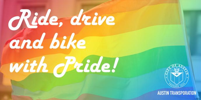 Pride Month Transportation Graphic