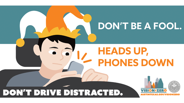 Distracted Driving Awareness Week Campaign