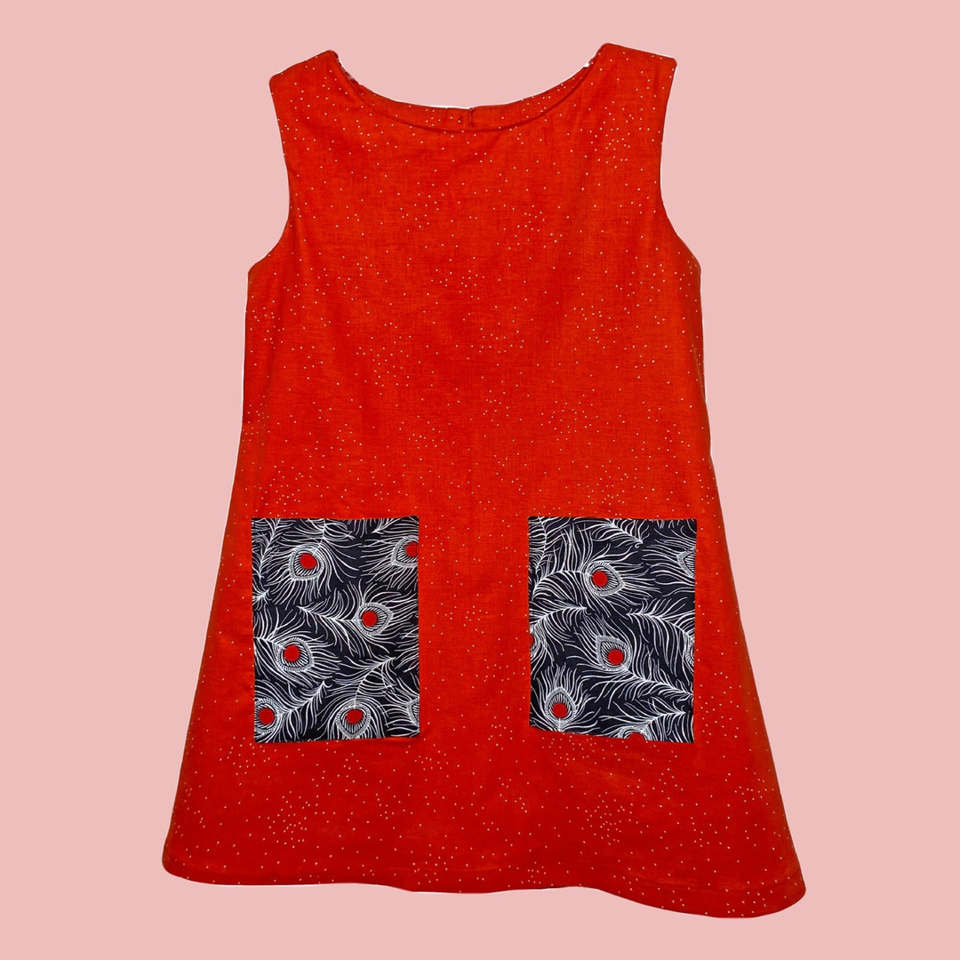 The Poppy Dress with Patch Pockets