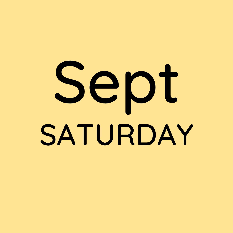 Sept 11, 18 & 25 10:30-12:30pm $150