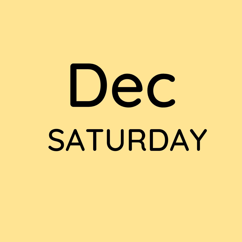 Dec 4, 11 & 18 10:30-12:30pm $150