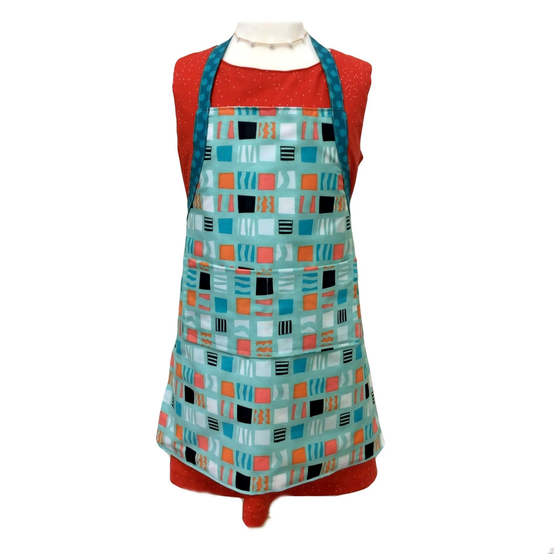 Lined Apron with Pockets
