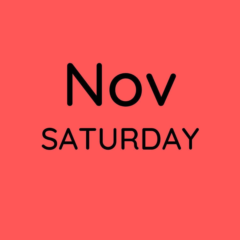 Nov 6, 13 & 20 10:30-12:30pm $150