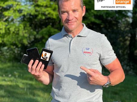 Orange   Thomas Voeckler ouvre le #TourduRecyclageMobiles et lance un challenge à 4 influenceurs