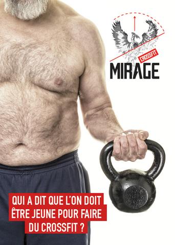 CrossFit Mirage change de peau...