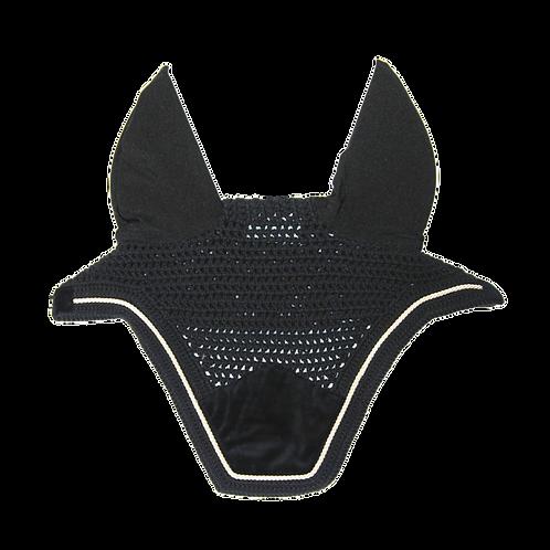 Bonnet velvet noir