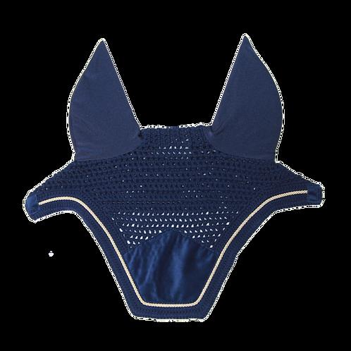 Bonnet velvet bleu