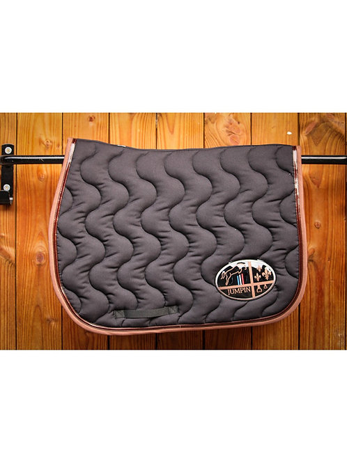 Tapis noir/choco made In France Jump'in