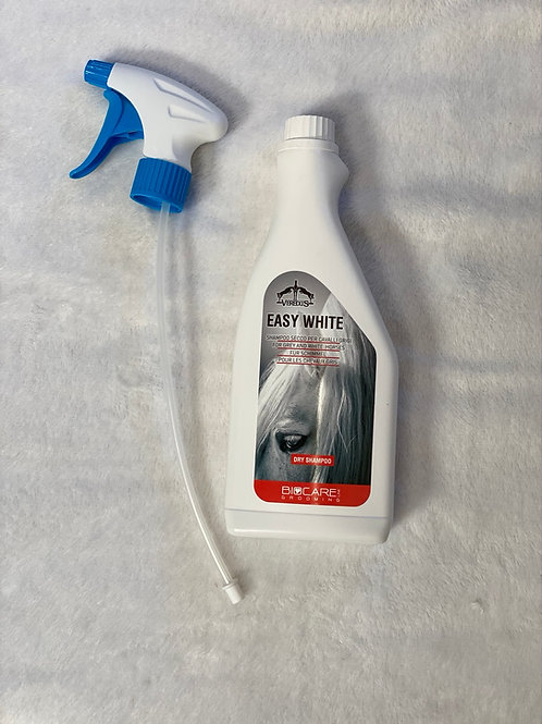 Easy white shampooing sec