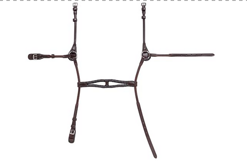 Muserolle ROUNDED NOSEBAND ROLLED
