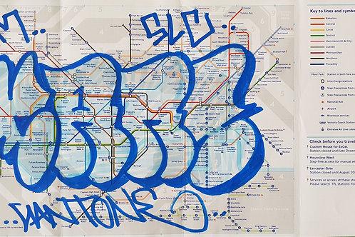 London tube map LTM005