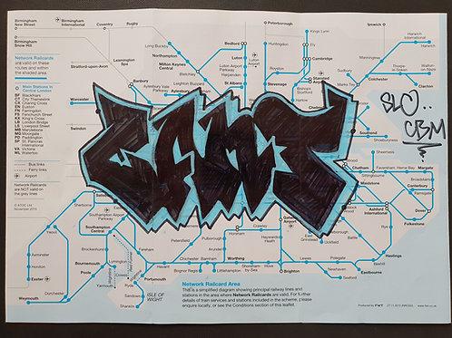 Network rail map