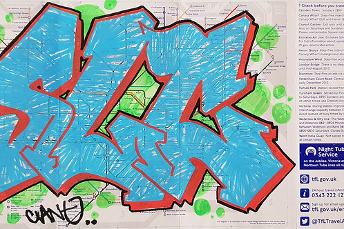 London tube map LTM009