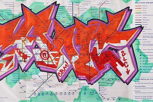 London tube map LTM015