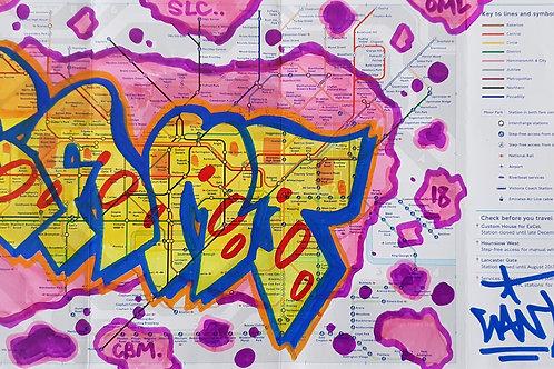 London tube map LTM002