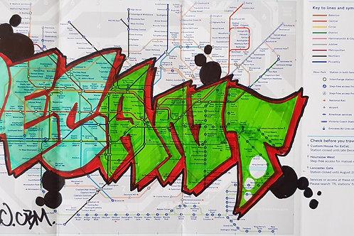 London tube map LTM014