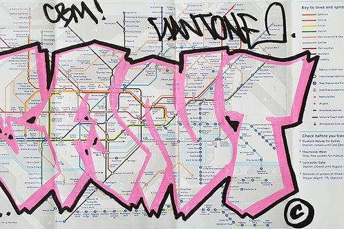 London tube map LTM010
