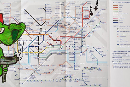 London tube map LTM012