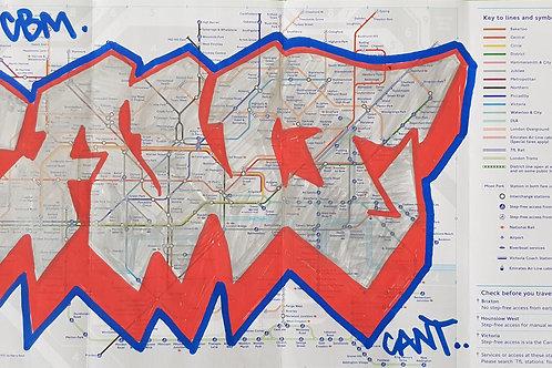 London tube map LTM003