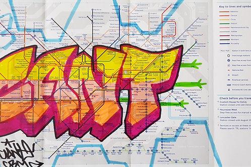 London tube map LTM011