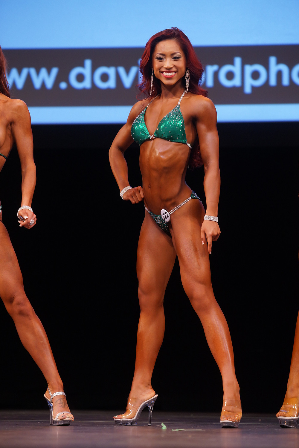 Competeing in the BC Provincial Championships in the Bikini B category