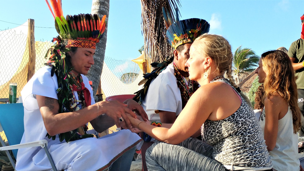 Healing sessions after third night of ceremonies