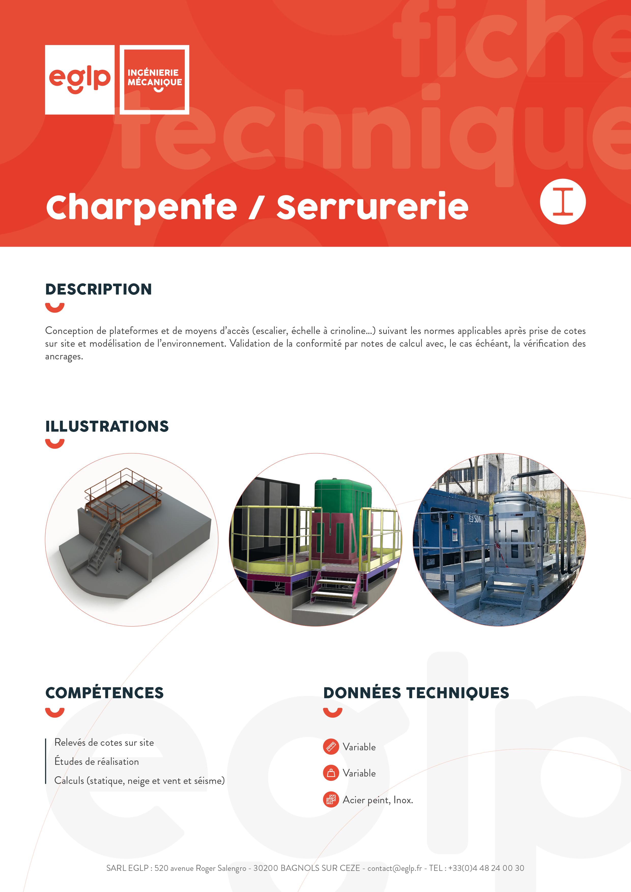Charpente-serrurerie