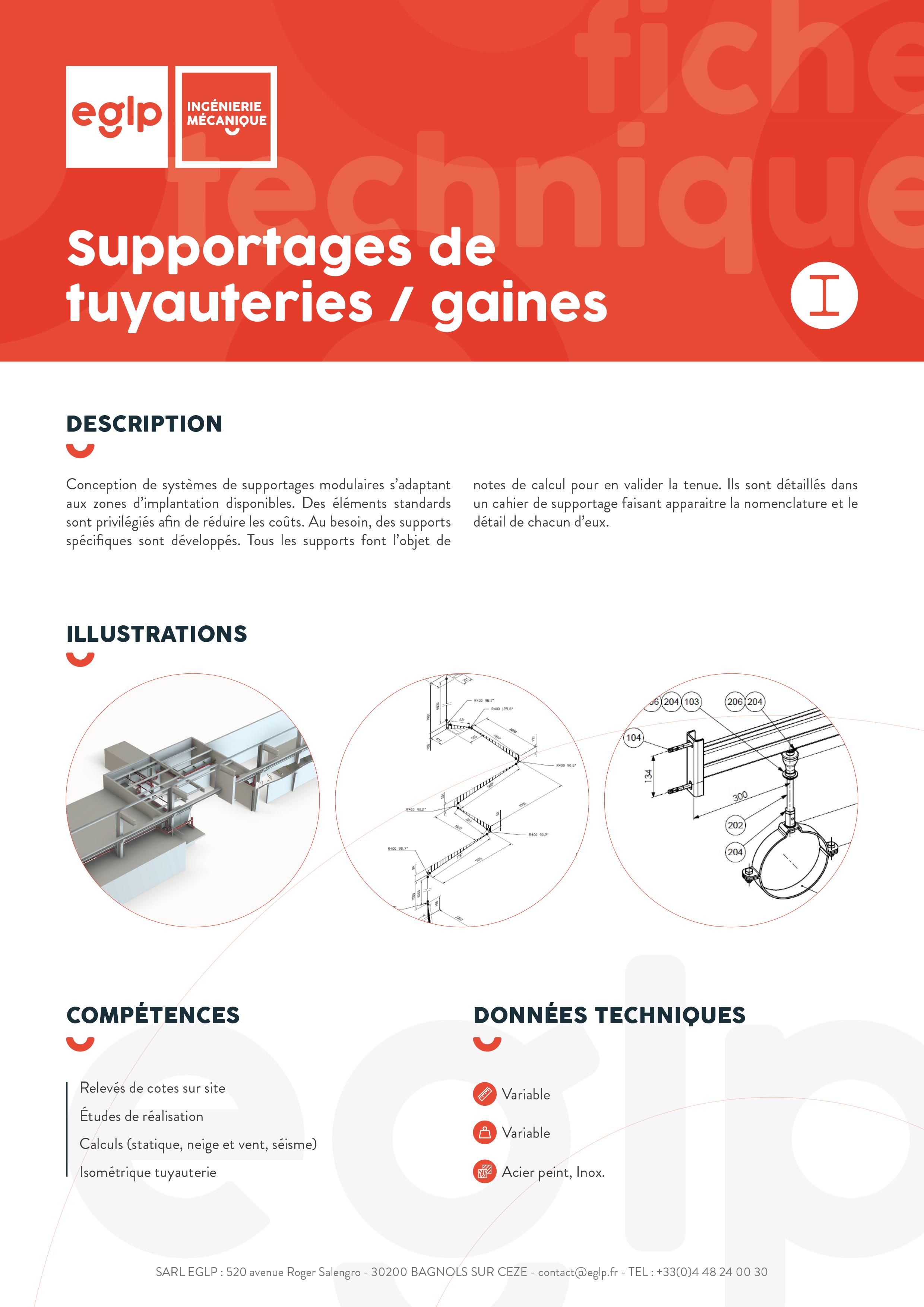 Supports-tuyauteries